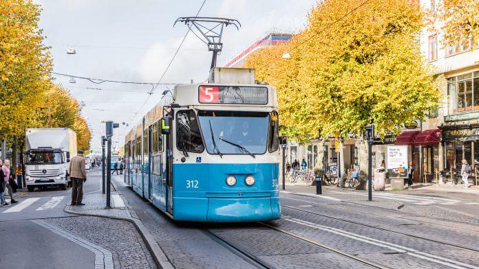 Femmans spårvagn i Göteborg