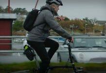 Mats Eriksson på vikcykel