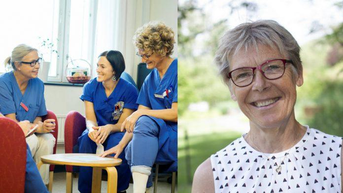 – Sammanhanget på jobbet kan vara lika viktigt som familjen. När vi får göra det vi är bra på och utvecklas i våra yrkesroller, säger Annemarie Hultberg. Institutet för stressmedicin i VGR.