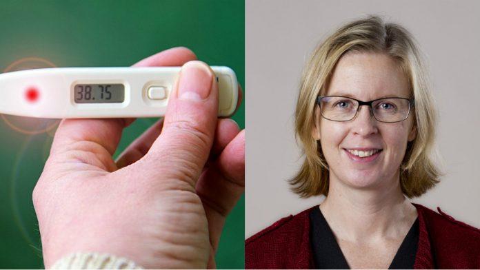 Gunilla Ockborn, biträdande smittskyddsläkare i VGR råder kraftigt överviktiga personer att vaccinera sig mot influensa.