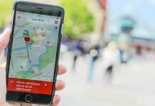 Appen SMS Livräddare i em mobiltelefon