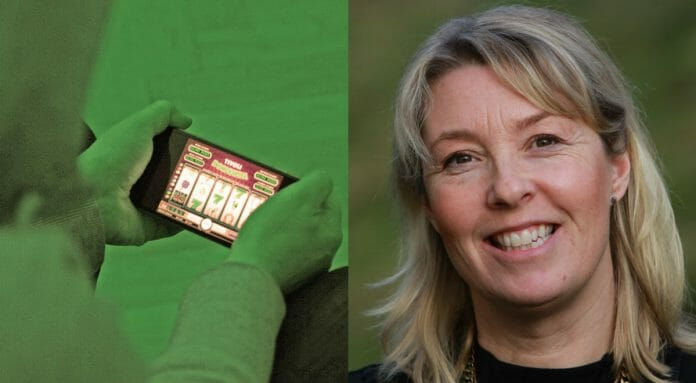 Casinospel i mobilen och docent Anna Gordh