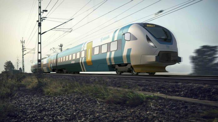 Bombardier levererar 40 nya tåg till Västtrafik med start 2021.