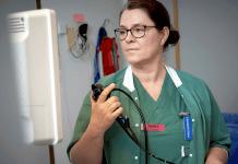 Maria Nordbergs nya arbetsuppgift medför att vårdförloppet går smidigare för patienterna. Foto: Bild och Media/Skaraborg Sjukhus