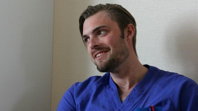 Christoffer Sandersson, sjuksköterska