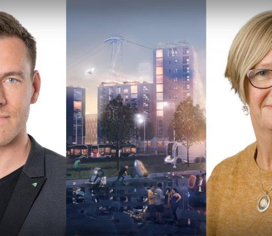 Gustaf Zettergren, miljöchef VGR och Kristina Jonäng, regionråd (C) säger att Västsverige har en nyckelroll för att nå ett mer hållbart transportsystem.