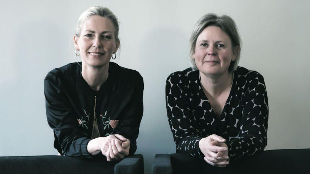 Bild på Lotta Eldh och Helena Rung. Foto: Kultur i Väst