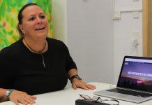 Åsa Torrestad trodde att inkubatorn bara var för ingenjörer, men hon hade fel. Nu får hon hjälp med sin affärsidé. Foto: Fredrik