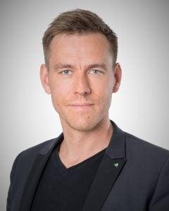 Gustaf Zettergren, miljöchef.