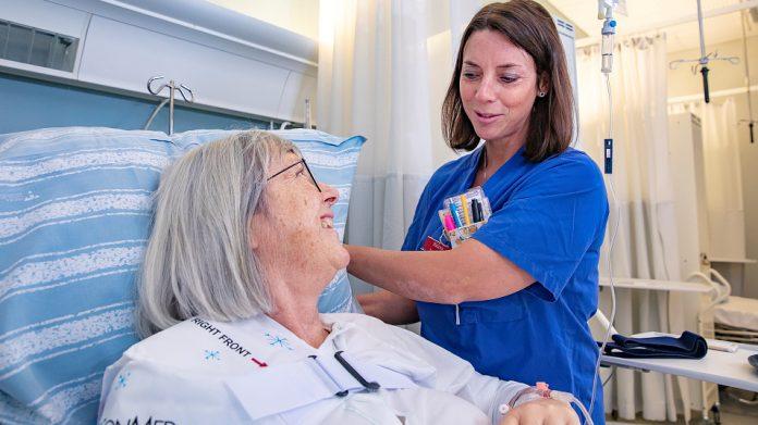 Patient och vårdpersonal