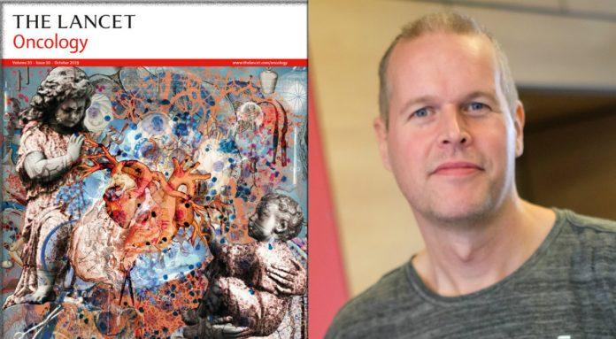 Nicklas Oscarsson och tidskriften The Lancet.
