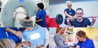 Röntgensjuksköterska, fysioterapeut, tandhygienist och barnmorska är några yrken som VGR har stort behov av framöver