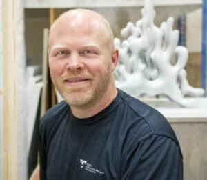 Rammakare Hans Persson. Foto: Kent Eng