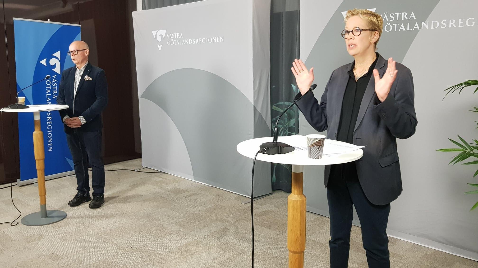 Bild på Conny Brännberg och Katti Hoflin från åresskonferensen